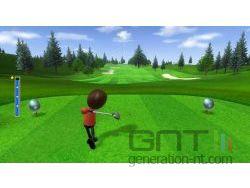 Wii Sports - Séance de golf