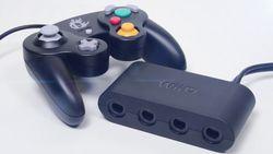 Wii U adaptateur manette GameCube - 1