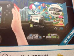 Wii U bundle New Super Mario U