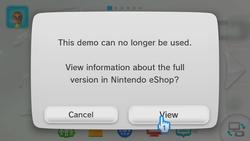 Wii U - limite demos