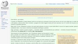 Wikipédia Italie