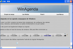 WinAgenda screen1