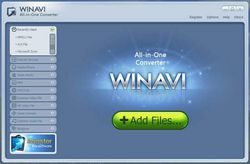 WinAVI All-In-One Converter screen 1