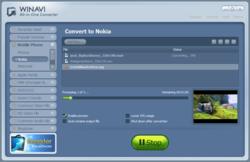 WinAVI All-In-One Converter screen 2
