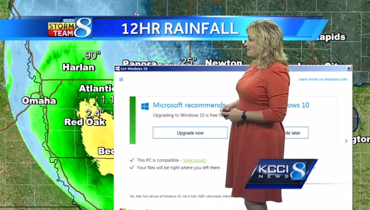 Windows 10 météo