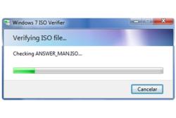 Windows 7 ISO Verifier screen1