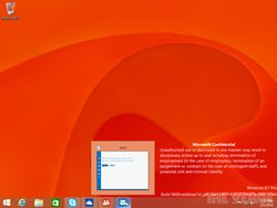 Windows 8.1 update 1 fuite