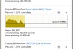 Windows 8 - transfert fichiers