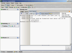 Windows Communicator Client 1