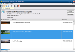 Windows File Analyzer screen 2