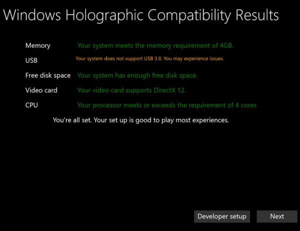Windows-Holographic-compatibilite