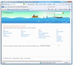 Windows Live Controle Parental screen1