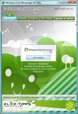 Windows Live Messenger Kids 1