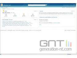 Windows Live - page d'accueil personnalisé