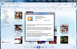 Windows Media Player 12 screen2