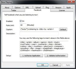 Windows Media Player Plugin screen1