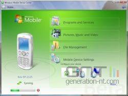 Windows mobile device center small