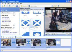 Windows Movie Maker screen1
