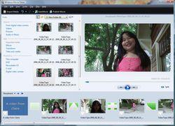 Windows Movie Maker screen2