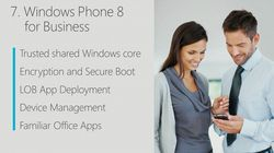 Windows Phone 8 entreprise