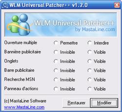 WLM Universal Patcher++ screen1