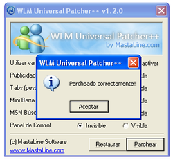 WLM Universal Patcher++ screen2
