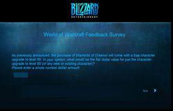 World of Warcraft - sondage