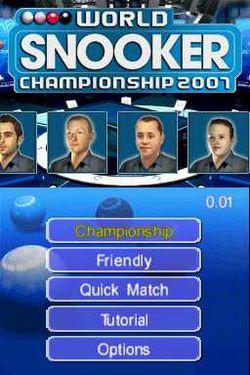 World snooker championship season 2007 08 image 1