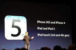 WWDC 2011 iOS 5 automne