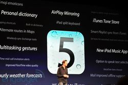 WWDC 2011 iOS 5 fonctions