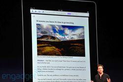 WWDC 2011 iOS 5 Safari Reader