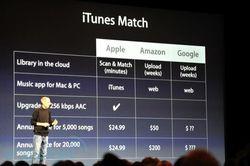 WWDC 2011 iTunes Match