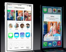 WWDC Apple iOS 7 AirDrop
