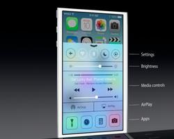 WWDC Apple iOS 7 Control Center 02