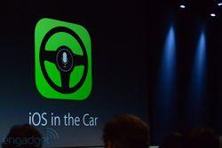 WWDC Apple iOS 7 in the car