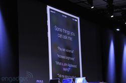 WWDC Apple iOS 7 Siri