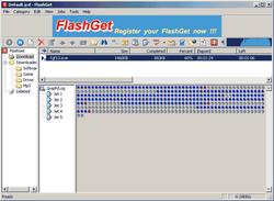 wxFlashget screen2