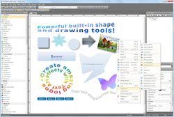 WYSIWYG Web Builder screen1