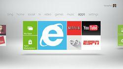 Xbox 360 Internet Explorer 9