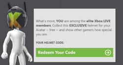 Xbox Live 10 ans - avatar