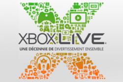 Xbox Live - 10 ans