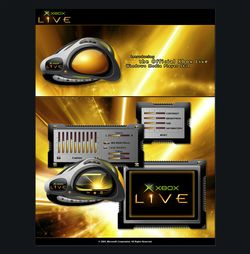 Xbox Live screen