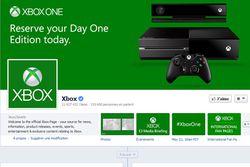 xbox one facebook