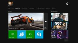 Xbox One - interface - 2