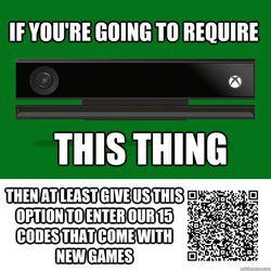 Xbox One - QR code