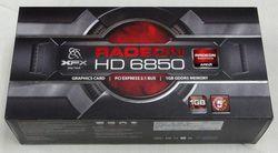XFX Radeon HD 6850 boîte