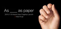 Xiaomi 15 janvier 1