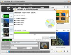Xilisoft AVI to DVD Converter screen