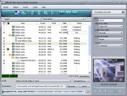 Xilisoft Blu-ray iPad Converter screen