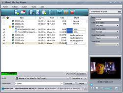 Xilisoft Blu-ray Ripper screen